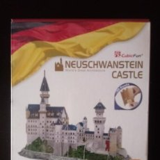 Puzzles: CUBIC FUN NEUSCHWANSTEIN CASTLE .. Lote 198382918
