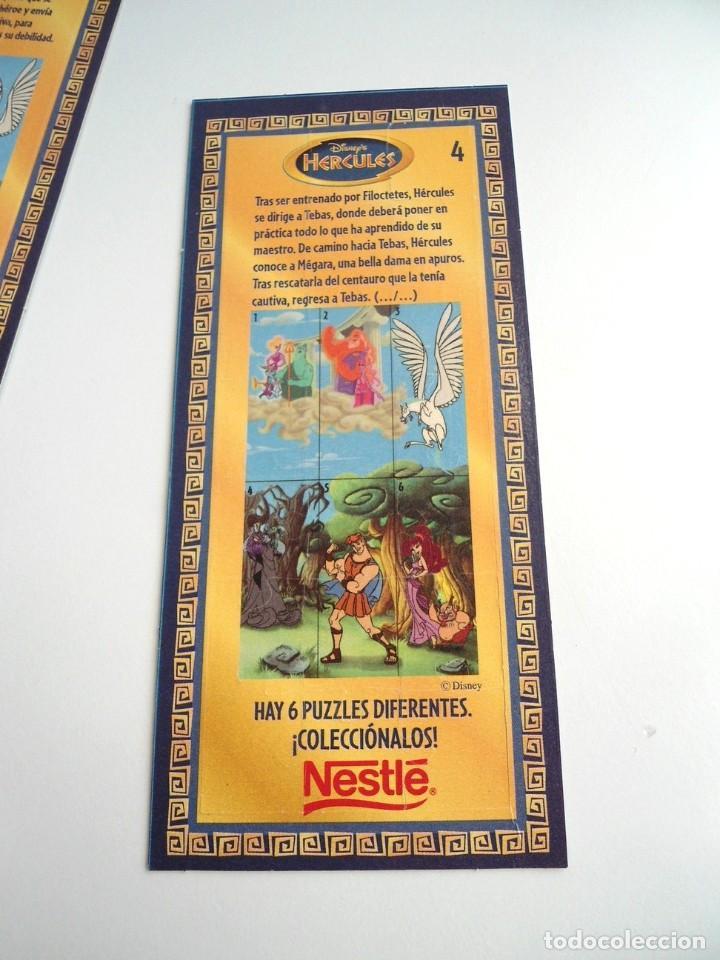 Puzzles: HERCULES n.4 - PUZZLE DISNEY - NESTLE AÑOS 90 - NUEVO - Foto 2 - 198430735