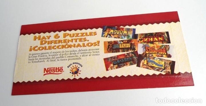 Puzzles: TOMAHAWK - PUZZLE NESTLE AÑOS 90 - NUEVO - Foto 2 - 198431501