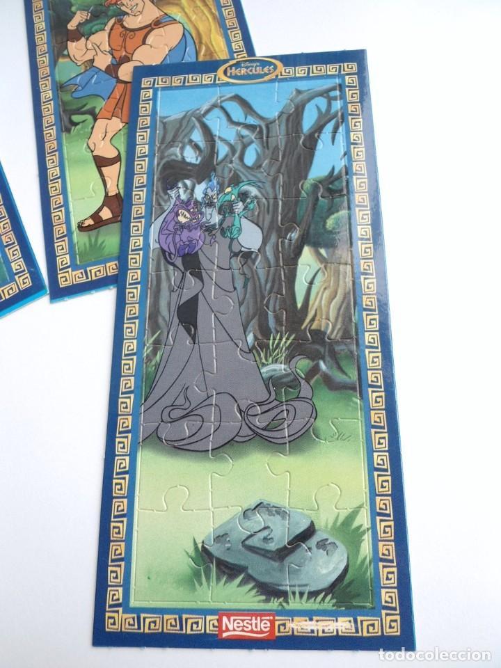 Puzzles: HERCULES - 3 PUZZLE DISNEY - NESTLE AÑOS 90 - NUEVO - Foto 2 - 198456493