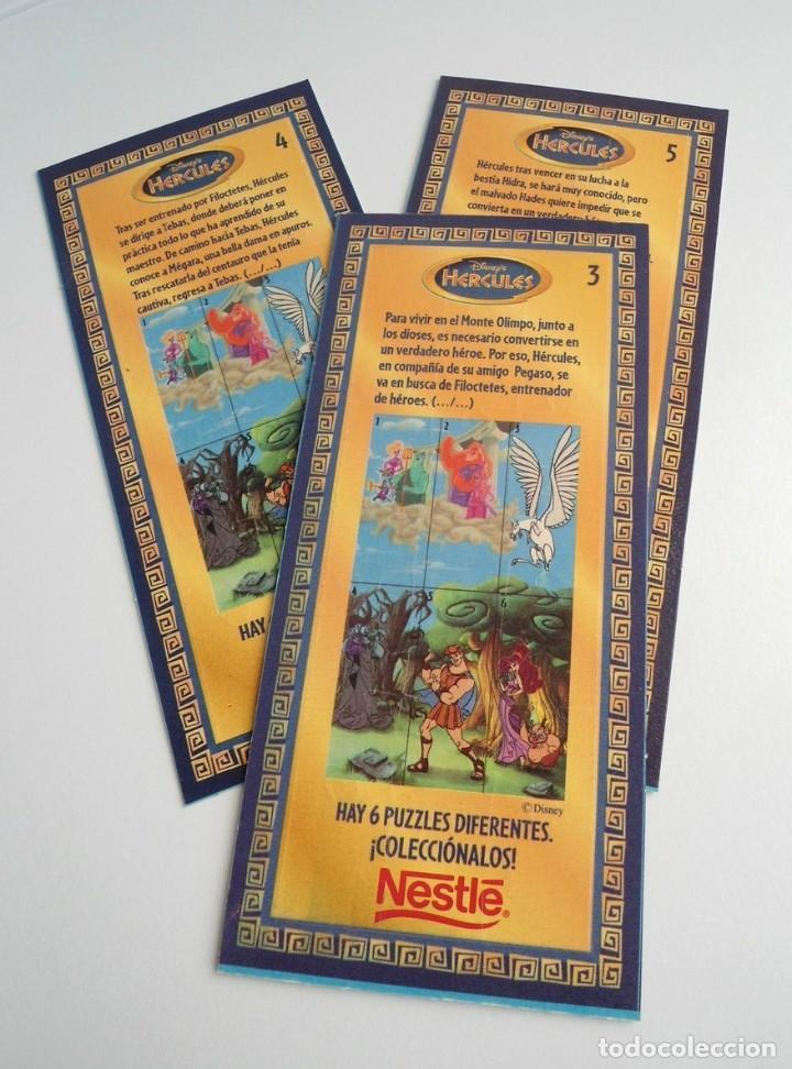 Puzzles: HERCULES - 3 PUZZLE DISNEY - NESTLE AÑOS 90 - NUEVO - Foto 5 - 198456493