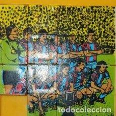 Puzzles: PUZZLE LABERINTO BARÇA CAMPEÓN COPA DEL REY 1980-81. Lote 198672936