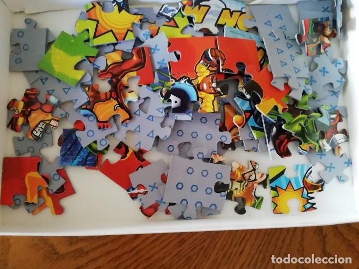 Puzzles: Puzzle Progresivo Super Hero Squad Contiene 4 puzzles con diferente número de piezas (entre 12 y 25) - Foto 3 - 199223373