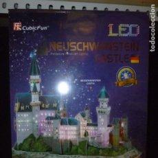 """Puzzles: PUZZLE 3D CON LED """"CASTILLO DE NEUSHWANSTEIN"""" PRECINTADO. Lote 199236022"""