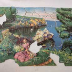 Puzzles: PUZZLE MUY ANTIGUO. Lote 199283276