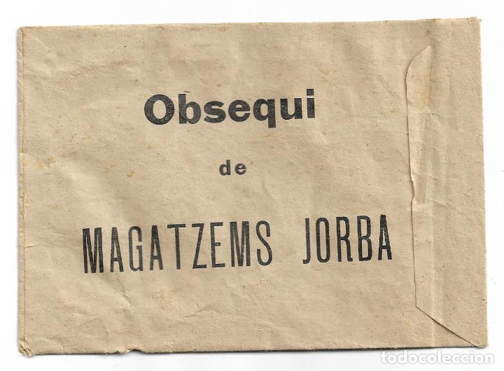 Puzzles: BETTY BOOP - MAGATZEMS / ALMACENES JORBA - MANRESA - BARCELONA - 14,8 X 10,3 CM. - Foto 2 - 199288470