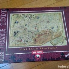 Puzzles: PUZZLE DE 1000 PIEZAS MAPA. Lote 199691213