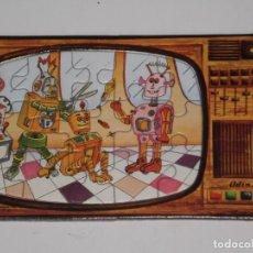 Puzzles: MINI PUZZLE ODÍN *15 PIEZAS* ( MADE IN SPAIN ) MOTIVO SERIES TV. DE LA ÉPOCA . AÑOS 80 .. Lote 199742632
