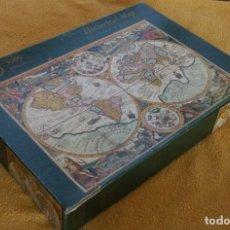 Puzzles: PUZZLE PUZLE 3000 PIEZAS LUXE: HISTORICAL MAP MAPA HISTORICO EL MUNDO EN TIEMPOS PASADOS A ESTRENAR. Lote 200753532