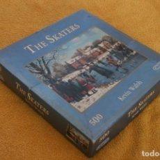 Puzzles: PUZLE PUZZLE GILSONS THE SKATERS KEVIN WALSH 500 PIEZAS – COMPLETO - SOLO USADO UNA VEZ - ENGLAND. Lote 200800618
