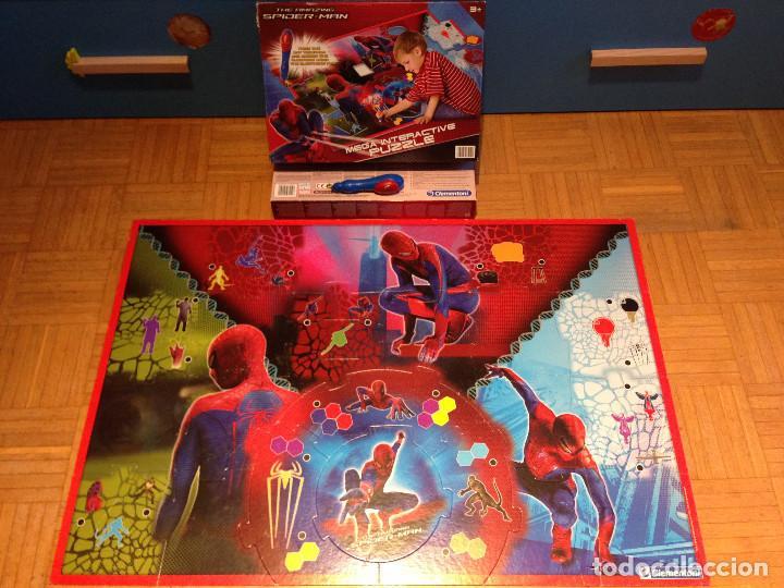 MEGA INTERACTIVE PUZZLE - MARVEL ULTIMATE ,THE AMAZING SPIDERMAN - (Juguetes - Juegos - Puzles)