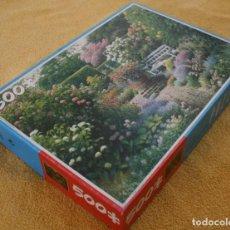 Puzzles: PUZLE PUZZLE KING COTTAGE GARDEN 500 PIEZAS TEMATICA BOTANICA – COMPLETO - SOLO USADO UNA VEZ. Lote 201241317