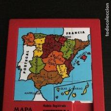 Puzzli: PUZZLE DESLIZANTE LABERINTO - MAPA ESPAÑA PENINSULA IBERICA - ANDREFER SA - 17X20CM - PUZLE. Lote 201251415