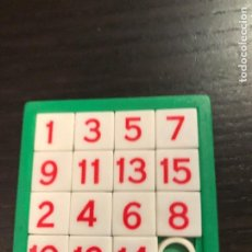 Puzzli: MINI PUZZLE DESLIZANTE LABERINTO - NUMEROS VERDE - 6X6CM - PUZLE - ROMPECABEZAS. Lote 201258626