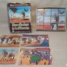 Puzzles: ROMPECABEZAS DON QUIJOTE DE LA MANCHA 1978. Lote 201309531