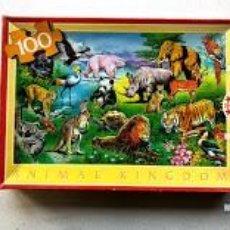 Puzzles: PUZZLE ANIMAL KINGDOM / 100 PIEZAS / EDUCA / REFERENCIA 7.146 / 60 X 43 CM /. Lote 201830785