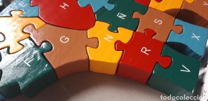 Puzzles: PUZZLE DE MADERA ELEFANTE DOS CARAS - Foto 3 - 201897192