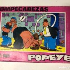 Puzzles: ANTIGUO JUEGO ROMPECABEZAS PUZLE DE POPYE EL JUEGO ESTA COMPLETO CON SUS LAMINAS . Lote 202446306