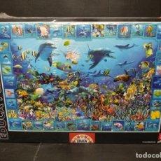 Puzzles: PUZZLE 5000 PZAS REINO DE LOS DELFINES DE EDUCA. NUEVO. Lote 202470055