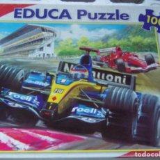 Puzzli: PUZZLE EDUCA 100 PIEZAS. Lote 203725668