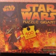 Puzzles: PUZZLE GIGANTE 400 PIEZAS STAR WARS PRECINTADO AÑO 2005. Lote 203918942