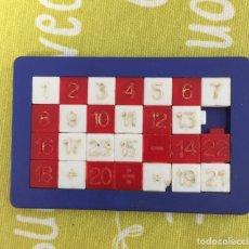 Puzzles: PUZZLE NUMÉRICO, AÑOS 80. UNO DE LOS SIGNOS TIENE UNA ROZADURA. Lote 203929071
