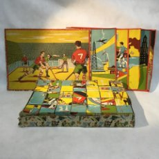 Puzzles: ROMPECABEZAS DE CUBOS, AÑOS 50. Lote 204057071
