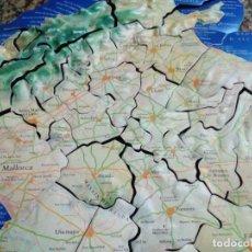 Puzzles: PUZZLE MAPA DE MALLORCA DE GOMA. Lote 204205510