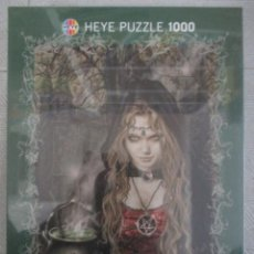 Puzzles: PUZZLE DE VICTORIA FRANCES - FAVOLE BRUJA - NUEVO - 1000 PIEZAS - DESCATALOGADO. Lote 204760757