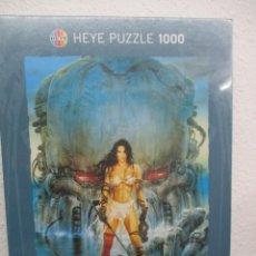 Puzzles: PUZZLE AMAZONS / LUIS ROYO - NUEVO - 1000 PIEZAS - DESCATALOGADO. Lote 204763042