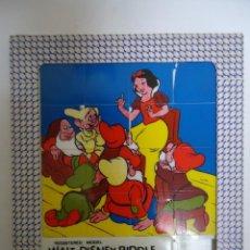 Puzzles: PUZLE ANTIGUO DE WALT DISNEY BLANCA NIEVES. AÑOS 60. --- 8. Lote 205439767