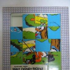 Puzzles: PUZLE ANTIGUO DE WALT DISNEY PATO DONALD. AÑOS 60. --- 8. Lote 205440040
