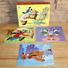 Puzzles: ANTIGUO PUZZLE DISNEY, DE BORRAS - AÑOS 70 - COMPLETO. Lote 205813307