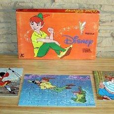 Puzzles: ANTIGUO PUZZLE DE PETER PAN, DE DISNEY - INCOMPLETO - BORRAS. Lote 205814136
