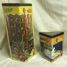 Puzzles: GRUPO DE DOS PUZZLES HEYE: LOUP DE 1500P + MORDILLO DE 500P. A ESTRENAR. Lote 205830897