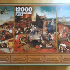 Puzzles: PUZZLE ROMPECABEZAS 12.000 PIEZAS! - RAVENSBURGER - 1983 DESCATALOGADO- LA TENTACIÓN DE SAN ANTONIO. Lote 205867148