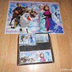 Puzzles: PUZZLE FROZEN - CLEMENTONI - 48 PIEZAS - 33 X 24 CM - OLAF - ELSA - DISNEY. Lote 206178087