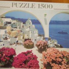Puzzles: PUZZLE EDUCA 1500 PIEZAS. SANTORINI. Lote 206244582