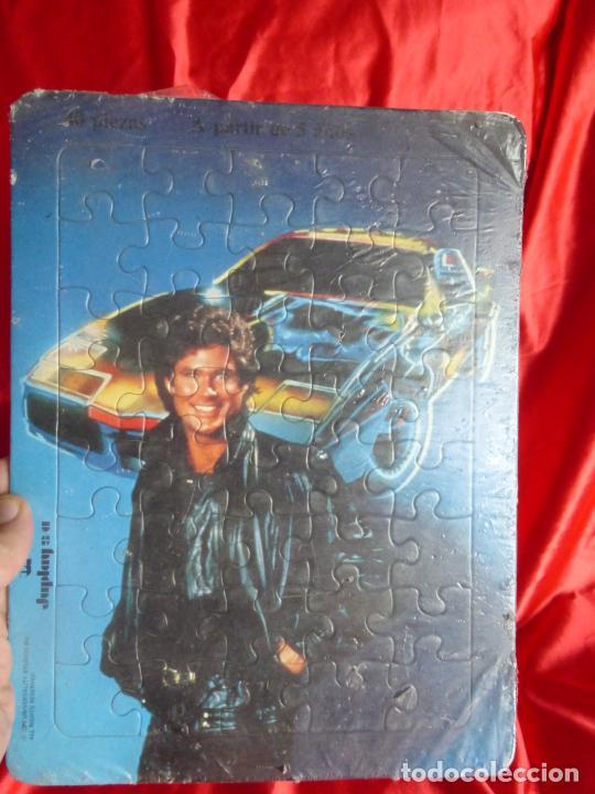 Puzzles: ANTIGUO PUZZLE ORIGINAL AÑO 1982- SERIE TV EL COCHE FANTÁSTICO-MICHAEL KNIGHT-JUPLAY S.A.-PRECINTADO - Foto 2 - 206408457