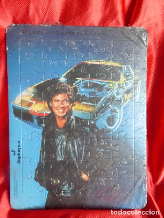 ANTIGUO PUZZLE ORIGINAL AÑO 1982- SERIE TV EL COCHE FANTÁSTICO-MICHAEL KNIGHT-JUPLAY S.A.-PRECINTADO (Juguetes - Juegos - Puzles)