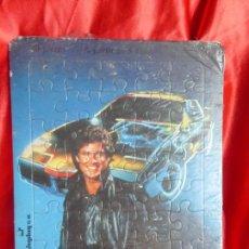Puzzles: ANTIGUO PUZZLE ORIGINAL AÑO 1982- SERIE TV EL COCHE FANTÁSTICO-MICHAEL KNIGHT-JUPLAY S.A.-PRECINTADO. Lote 206408457