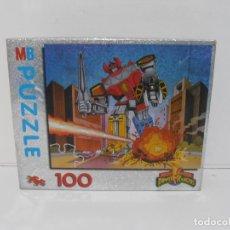 Puzzles: PUZZLE POWER RANGERS, MB JUEGOS, 100 PIEZAS. Lote 206821275