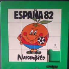 Puzzles: (M) MUNDIAL ESPAÑA 1982 - PUZZLE NARANJITO 1982, PLASTICO. Lote 206963462