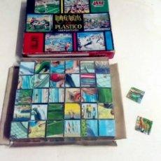 Puzzles: ROMPECABEZAS DE PLASTICO DEPORTIVO. Lote 206968338