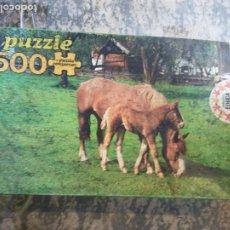 Puzzles: JUEGO PUZZLE. STUTE, JUMEN, CAVALLA, MAR, YEGUA. MEDIDAS 48*34CM. SALLENT HNOS,S.A.. Lote 206969890