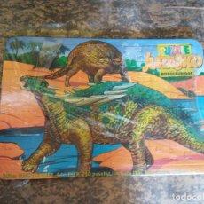Puzzles: JUEGO PUZZLE. JURADISCO. NODASAURIDOS. GRUPO EDIDER,S.L. MEDIDAS 37*25 CM. Lote 206970050