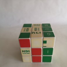 Puzzles: CUBO RUBIKS PUBLICIDAD HDI GERLING. Lote 207568328