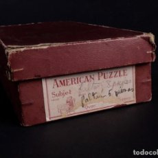 Puzzles: ANTIGUO AMERICAN PUZZLE NEW YORK. Lote 207581918