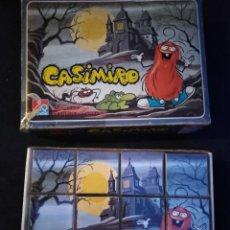 Puzzles: ROMPECABEZAS CUBOS DE PLÁSTICO CASIMIRO. Lote 218453423