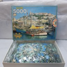 Puzzles: PUZZLE 5000 PIEZAS IBIZA REF 7994 AÑOS 80 PRECINTADO, NUEVO A ESTRENAR!!!. Lote 207773216